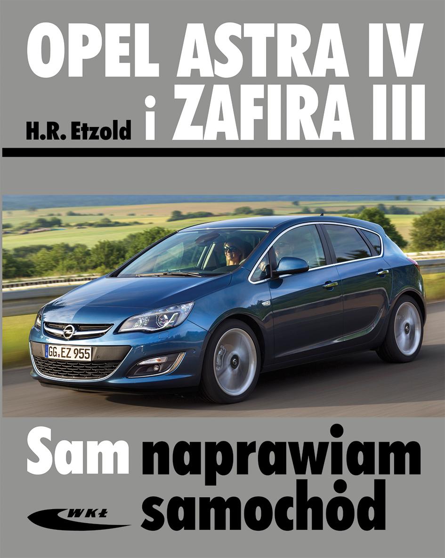 Książka Opel Astra Iv I Zafira Iii Hans R 252 Diger Etzold